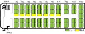 53席座席表