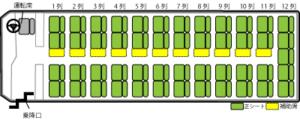 60席座席表