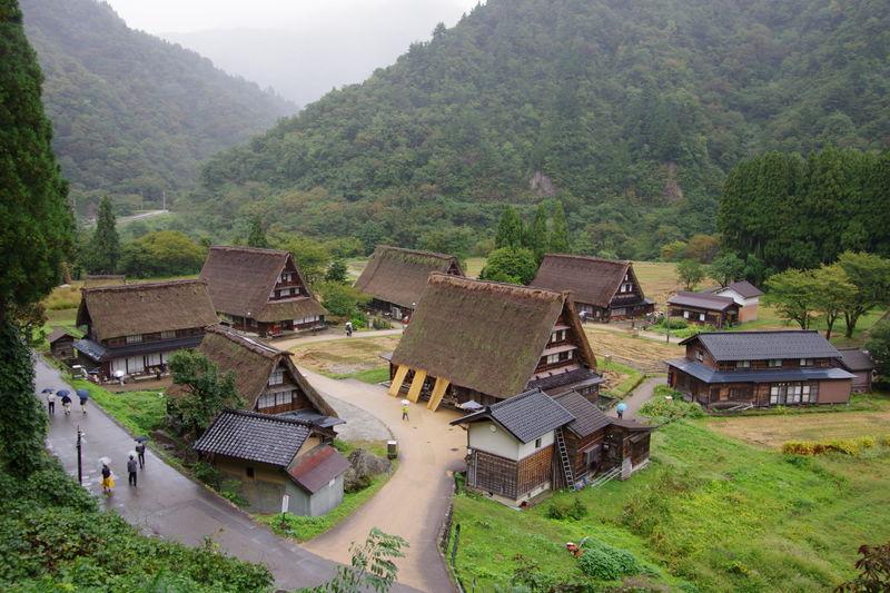 五箇山の合掌造り集落