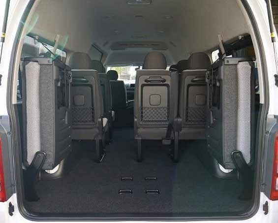 ミニバス トランク