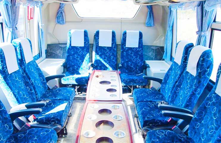 中型バス サロンシート