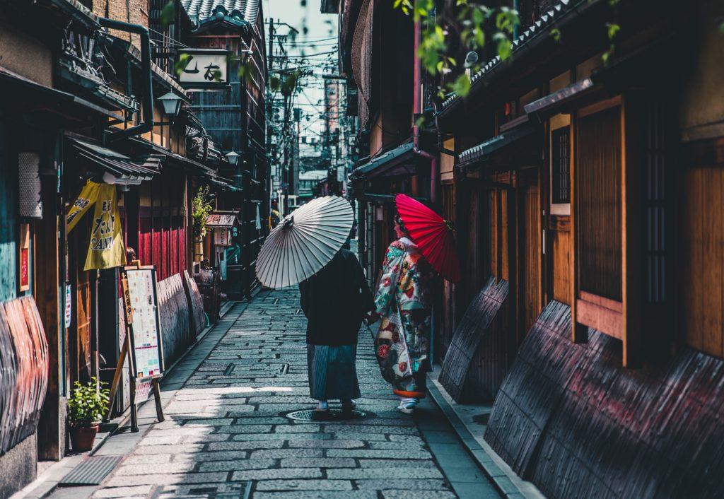 京都の町並み
