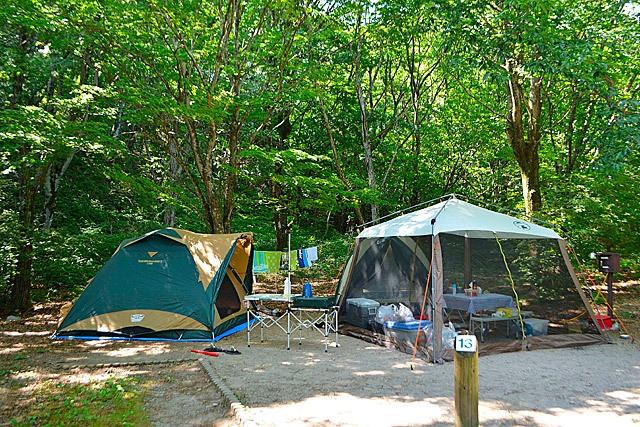 2021年貸切バスで行きたいキャンプ場-榛名湖オートキャンプ場