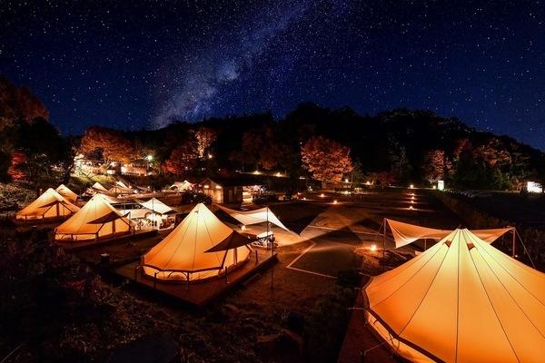 2021年貸切バスで行きたいキャンプ場-森と星空のキャンプヴィレッジ