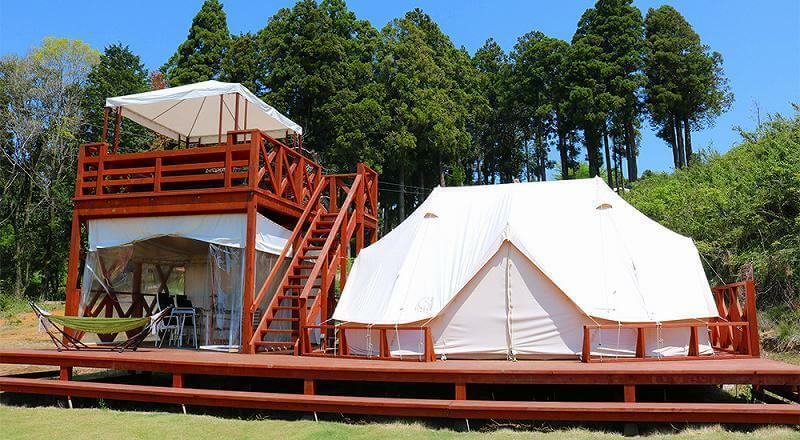 2021年貸切バスで行きたいキャンプ場-マザー牧場オートキャンプ場